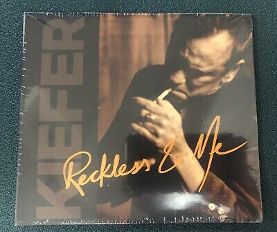 Kiefer Sutherland (Jack Bauer 24) Reckless & Me CD with hand-signed photo - New!
