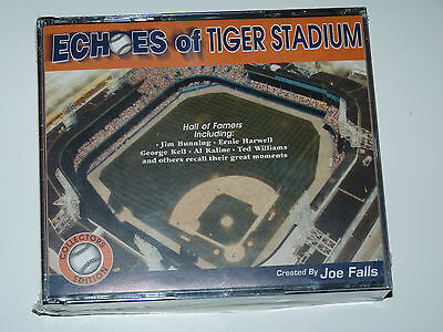 "NEW ""Echoes of Tiger Stadium"" CD's Audio Stories of Detroit Michigan & Trumbull"