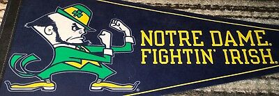 "Und Notre Dame Football Hockey Basketball Wincraft 29.5"" Pennant Fightin Irish !"