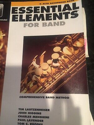Essential Elements For Band Eb Alto Saxophone Book 1, 2004