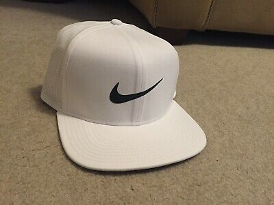 super popular 28013 8f81b New Nike Golf Aerobill Cap Hat Adjustable Nike Pro  892643-100  32 White