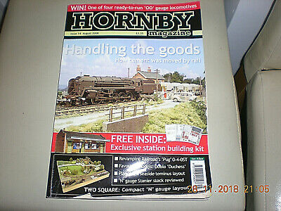 Railway Modelling Hornby Magazine 14 Aug 2008 Cement  Pug Goods DCC Outdoor OO