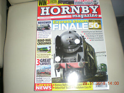 Railway Modelling Hornby Magazine No 122 Aug 2017 Crossings Dean Goods  Southern