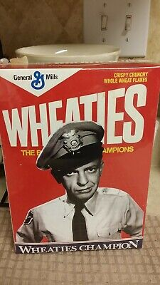 Andy Griffith Barney Fife Mayberry Wheaties Box