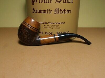 Vintage Talamona Bent Egg estate tobacco pipe; made in Italy