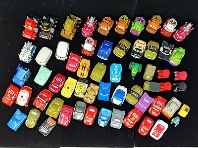 HUGE Disney Pixar Mattel Cars Micro Drifters Mini Racers Collection Lot MUST SEE