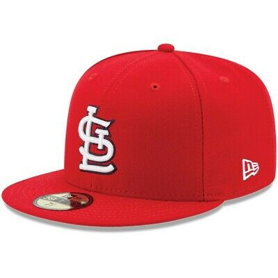 St. Louis Cardinals STL MLB New Era 59FIFTY Fitted Cap - 5950 Hat( Red )NEW