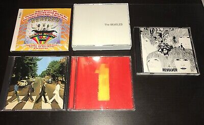 Lot Of 5 The Beatles Music CDs 1 Revolver Abbey Road Anthology Magical Mystery