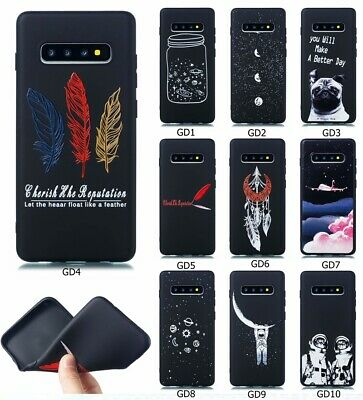 Fashion Beautiful Printed Patterned Ultra-thin TPU Silicone Rubber Case Cover GF