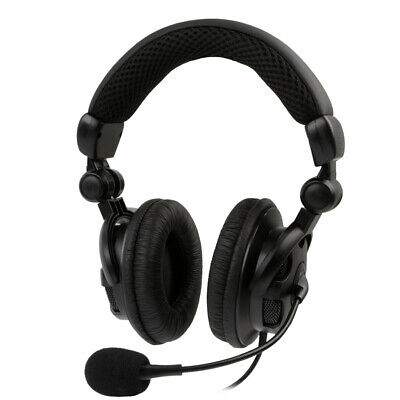 [REYTID] HD Bass-Driven Gaming Headset Xbox One / PS4 w/ Mic Volume Control Mute
