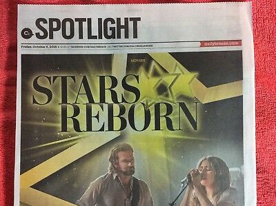 A Star Is Born Daily Breeze October 5 2018 Clipping Bradley Cooper Lady Gaga