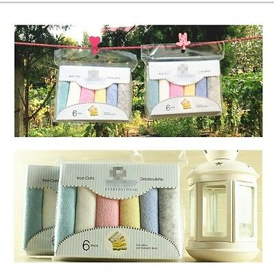 Baby Natural Cotton Baby Wipes Soft Newborn Baby Face Towel Washcloth Shower FA