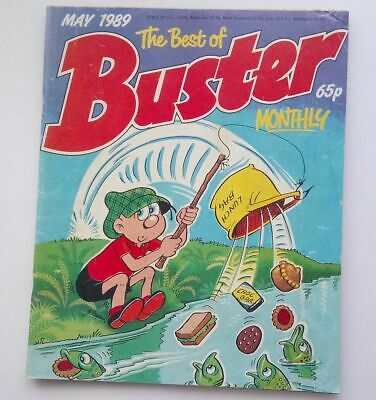 The Best of Buster Monthly May 1989 Collectable Childrens Kids Comic Fine UK