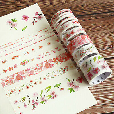 9pcs Paper Calendar Scrapbook Album Diary Book Decor Planner Sticker Craft Dote