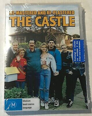 **THE CASTLE** Re-Mastered and Re-Plastered DVD Brand New Sealed, Rated M