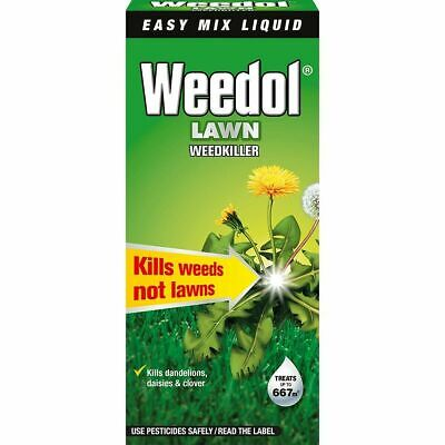 Scotts Weedol Verdone Fast Acting Lawn Weedkiller Concentrate Weeds Patio 1L NEW