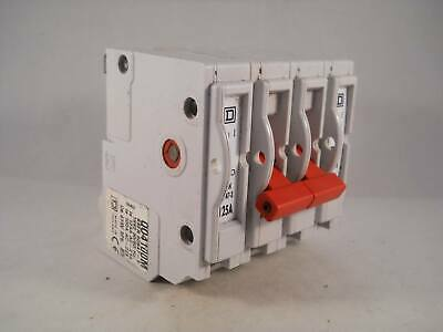 Square D 125 Amp Main Switch Disconnector 125A QOE Four Pole Isolator QO4100M