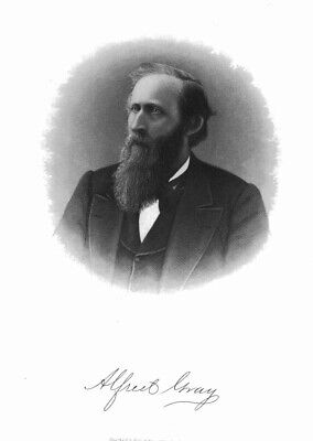 ALFRED GRAY, TOPEKA, KANSAS, Bryce, antique engraving