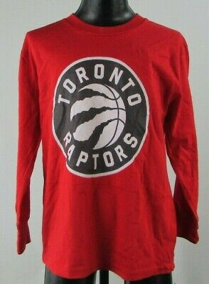 Toronto Raptors NBA Youth's Red Long Sleeve T-Shirt