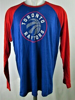 Toronto Raptors NBA Men's Blue Long Sleeve T-Shirt