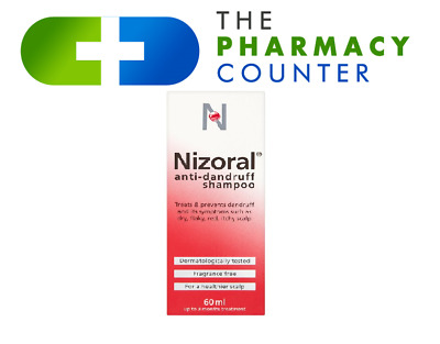 Nizoral Anti Dandruff Shampoo 60 ml x 3 pack | **Free Delivery**