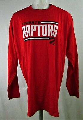 Toronto Raptors NBA Men's Big & Tall Red Long Sleeve T-Shirt