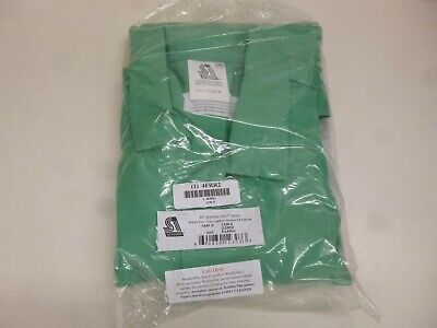 NEW!! Flame-Resistant Jacket, Green/Gray, XL