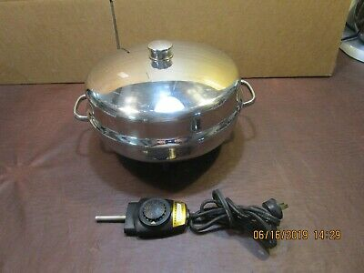 Farberware Electric Stainless Steel Skillet, Model# 344A