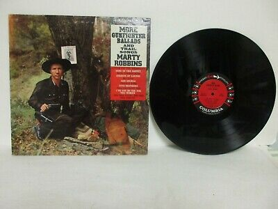 Marty Robbins - More Gunfighter Ballads & Trail Songs LP, 1960