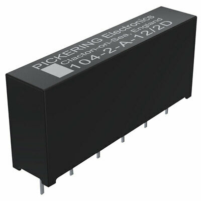 Pickering High Voltage 1.5kV Stand-off 2 Form A SPST 12 Volt coil Reed Relay