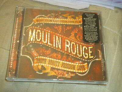 music from baz luhrmanns film moulin rouge,cd
