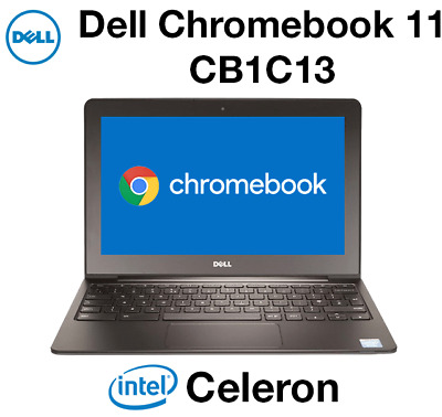 "Dell Chromebook 11 CB1C13 11.6"" Netbook Intel 2955 1.40GHz 4GB 16GB (No Charger)"