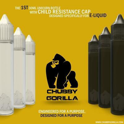Authentic Chubby Gorilla Unicorn Drip Bottles 15ml 30ml 60ml 100ml V3 Wholesale