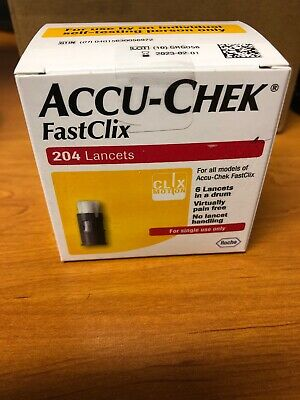 Accu-Check FastClix Lancets Box of 204 lancets