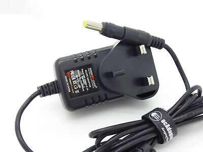 UK 9V AC/DC POWER SUPPLY ADAPTER COMPATIBLE FOR CASIO AD-5 AD5 AD 5