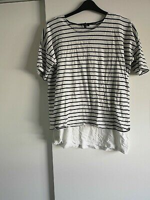 New Look Striped Maternity top size 16