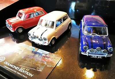 1/32 Mini Diamond Edition Triple Pack Carrera 132 Scalextric ARC Analog ,Licht