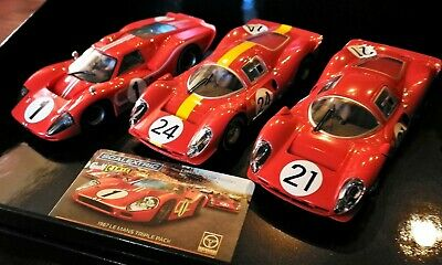 1/32 Legends 1967 Le Mans Triple Pack Carrera 132 Scalextric ARC Analog ,Licht