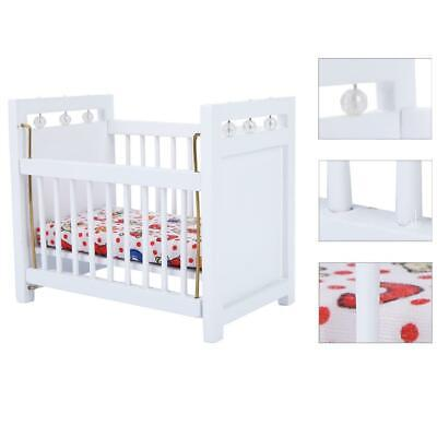 3Pcs/set Wooden Miniature Furniture Model for 1:12 Scale Doll House Bedroom Gift