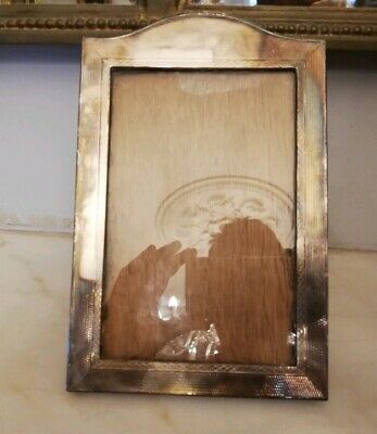 ANTIQUE ART DECO SOLID SILVER PICTURE FRAME BY BRITISH METALLISING Co.Ltd.