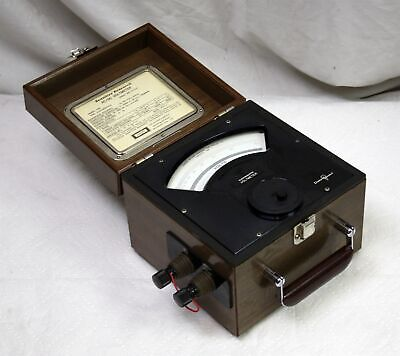 "Vtg Sensitive Research ESD Electrostatic Voltmeter 500V Singer Tested ""Usable"""