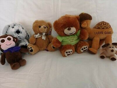 Teddy Bear Collection Cuddly Soft Toy Bears Various Characters