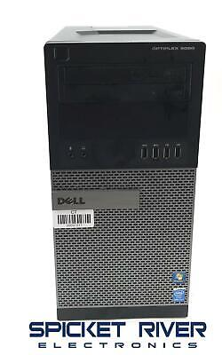 Dell OptiPlex 9020 Mini-Tower 3.40GHz Quad Core i7-4770 1TB HDD 10GB RAM #31217