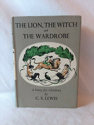 C. S. Lewis THE LION, THE WITCH, & THE WARDROBE vintage 1964 7th p Geoffrey Bles