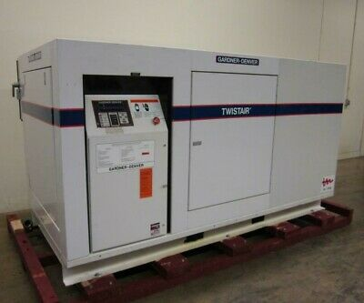 Gardner Denver Twistair Ewdqjb 50Hp Rotary Screw Compressor 238 Cfm @ 100Psig