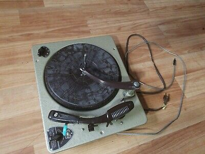 Vintage COLLARO 3RC-532 RECORD CHANGER TURNTABLE - Works!