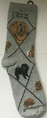 Chow Chow Socks UK Size 3.5 - 6.5 by Wheel House Designs Gifts, Presents