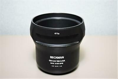 Tested 2009 Beckman Coulter Swing Bucket CH-3.8/CH3.8A Max 3750RPM Warranty