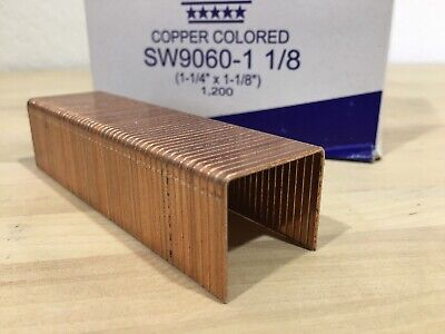 ASC SW90601-1/8 Carton Closing Staple box of 10