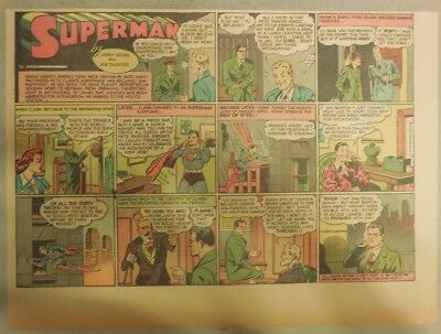 Superman Sunday Page #76 by Siegel & Shuster from 4/13/1941 Half Page:Year #2!